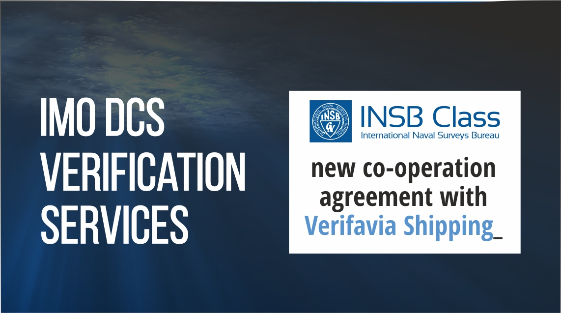 Insb Class Verifavia Work Together Under Imodcs Verifavia Shipping